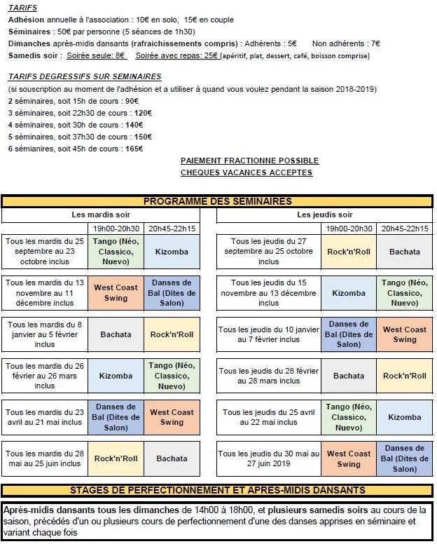 Programme seminaire pour site 1