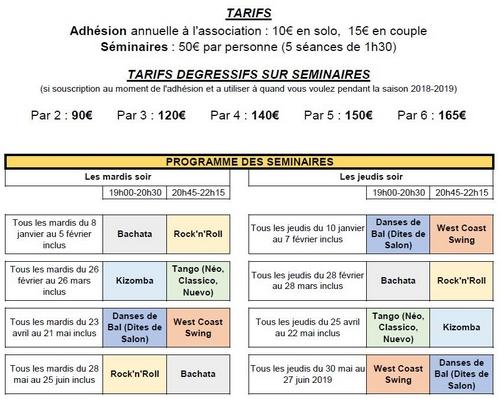 Programme seminaire pour site 4